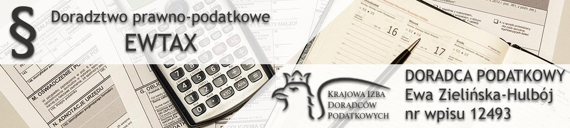 Doradztwo Prawno-Podatkowe EWTAX